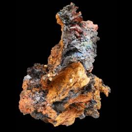 Pseudomorphose limonite - goethite
