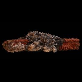 Goethite et calcite