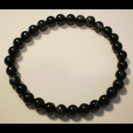 Bracelet agate 6mm
