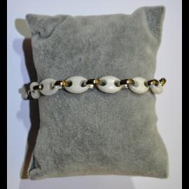 bracelet ceramique blanc ceram45