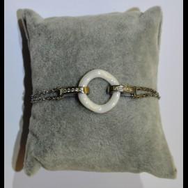 bracelet ceramique blanc ceram54