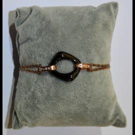 Bracelet ceramique noir ceram39