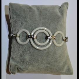 Bracelet ceramique blanc ceram51
