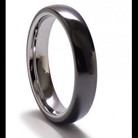 Bague anneaux céramique noir